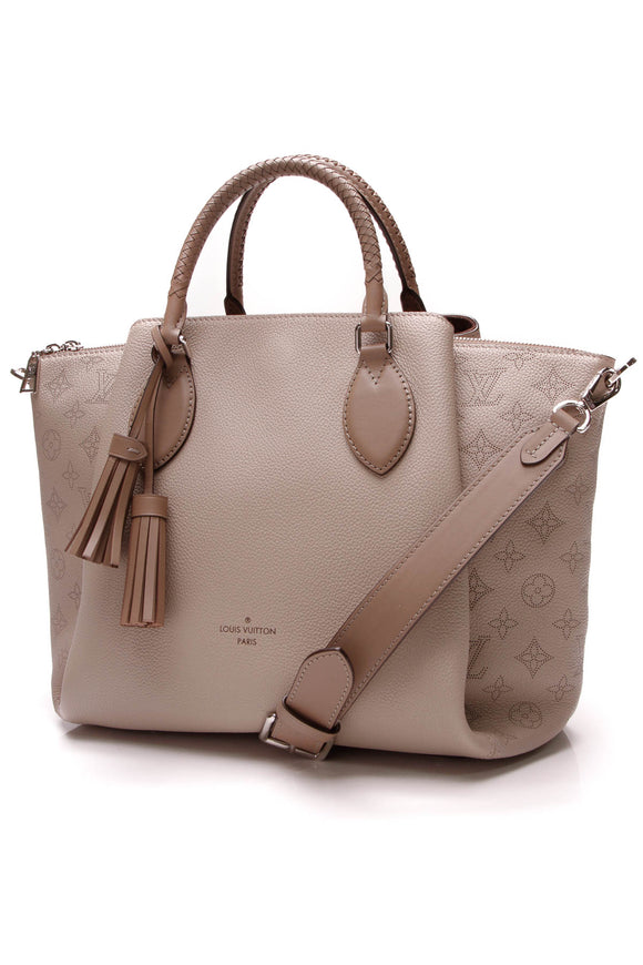 Louis Vuitton Haumea Bag Galet Mahina Taupe