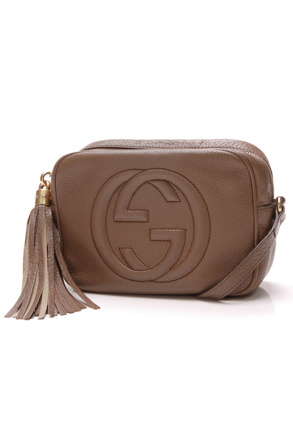 Gucci Soho Disco Bag Brown Leather