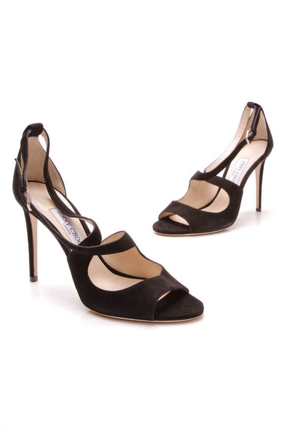 Jimmy Choo Emily 100 Pumps Black Size 40