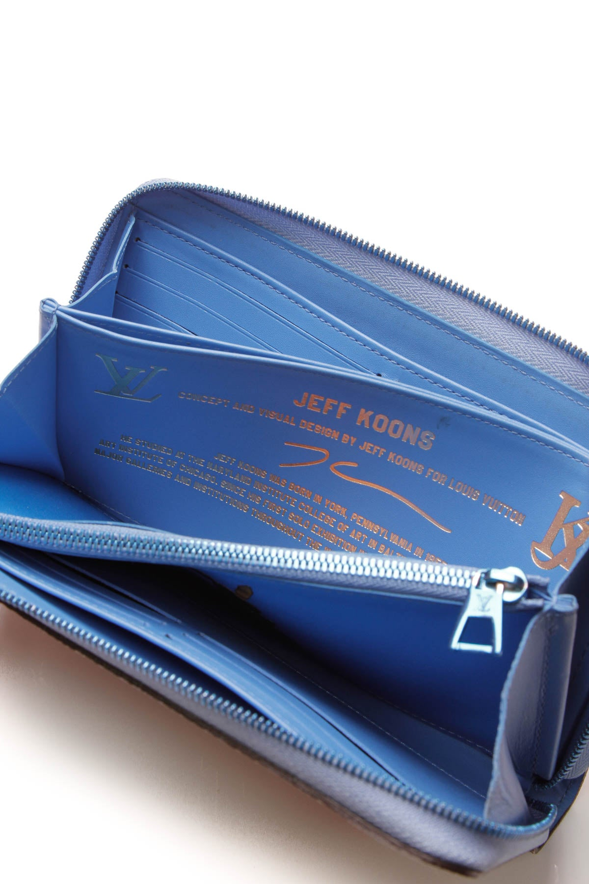 Masters Collection Rubens Zippy Wallet - Blue