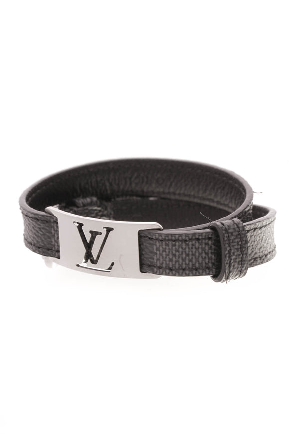 Louis Vuitton Sign It Bracelet Damier Graphite Gray