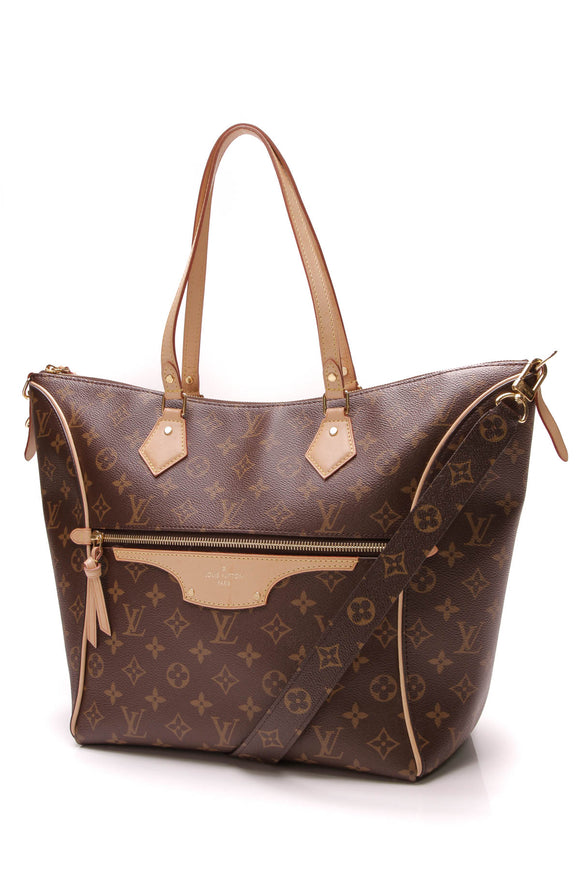 Louis Vuitton Tournelle MM Tote Bag Monogram Brown