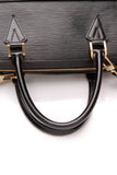 Louis Vuitton Sorbonne Epi Briefcase Bag Black