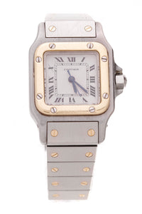 Cartier Santos Galbee Ladies Automatic Watch Stainless Steel