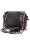 Tory Burch Thea Chain Shoulder Bag Navy