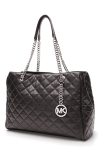 Michael Kors Susannah Large Tote Bag Black