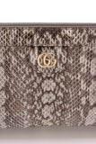 Gucci Ophidia Small Snakeskin Shoulder Bag Gray