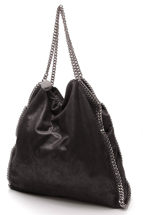 Stella McCartney Falabella Large Tote Bag Black