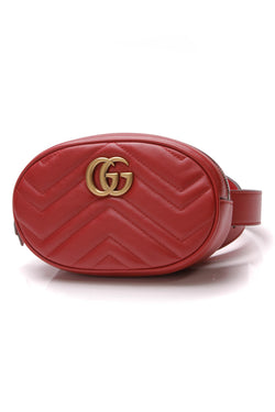 7b2d6827c9d0 GG Marmont Small Belt Bag - Matelasse Leather. Gucci