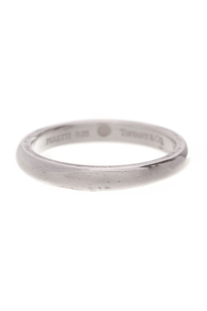 ce7546147 Tiffany & Co. Elsa Peretti Ruby Stacking Ring - Silver Size 6 – Couture USA