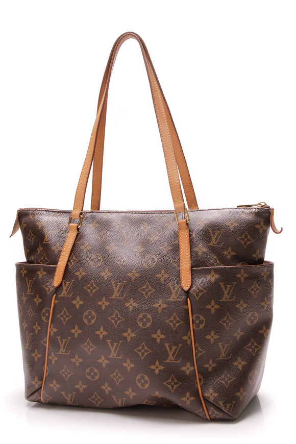 5e3c649b785c2e Louis Vuitton Totally MM Bag Monogram Canvas Brown
