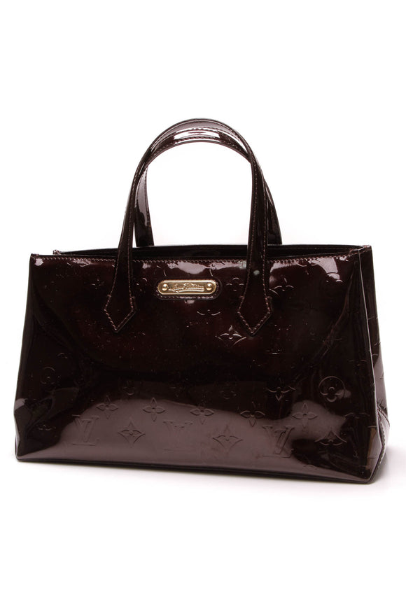 a370bb249b31 Louis Vuitton Wilshire PM Tote Bag Amarante Burgundy