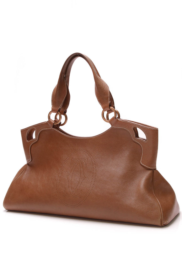 Cartier Marcello de Cartier Bag Brown