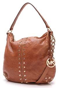 Michael Kors Uptown Astor Large Shoulder Bag Brown