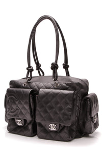 Chanel Cambon Reporter Bag Black