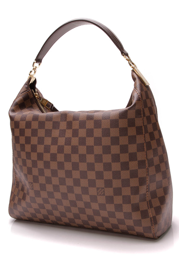 Louis Vuitton Portobello GM Bag Damier Ebene Brown