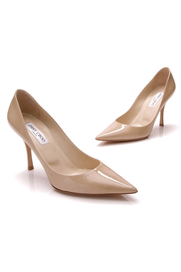 Jimmy Choo Lockett Pumps Nude Size 39