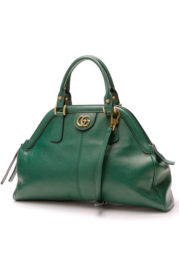 Gucci RE(BELLE)Top Handle Medium Bag Green