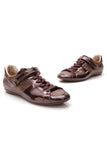 Louis Vuitton Globe Trotter Sneakers Monogram Size 39 Brown