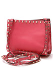 Valentino Rockstud Small Shopper Bag Hot Pink