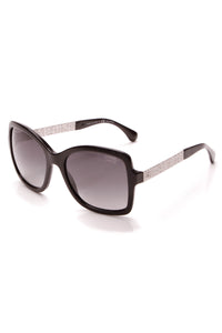Chanel Polarized Square Sunglasses 5383 Black