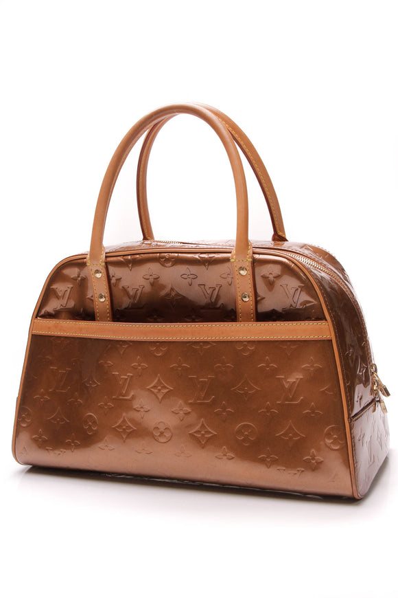 Louis Vuitton Vernis Tompkins Square Bag Bronze