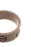 Cartier Love Band Ring White Gold Size 4