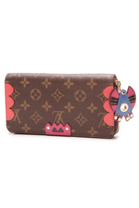 Louis Vuitton Totem Zippy Wallet Flamingo Monogram