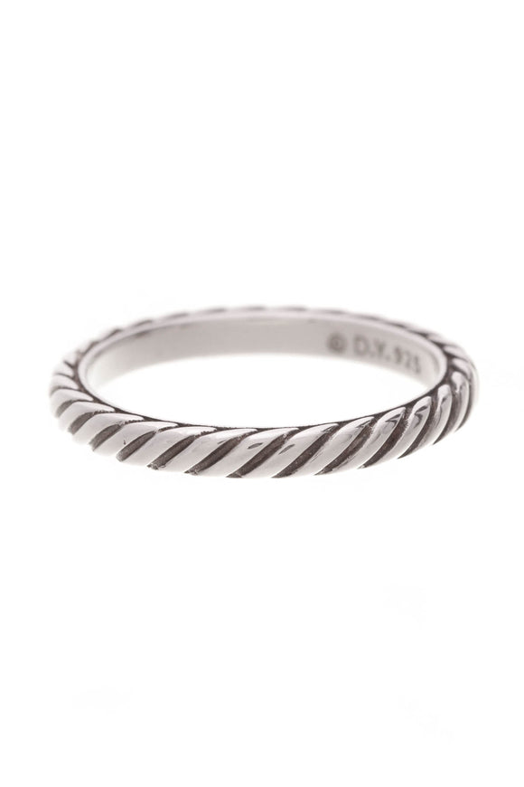 David Yurman Cable Collectibles Band Ring Size 8