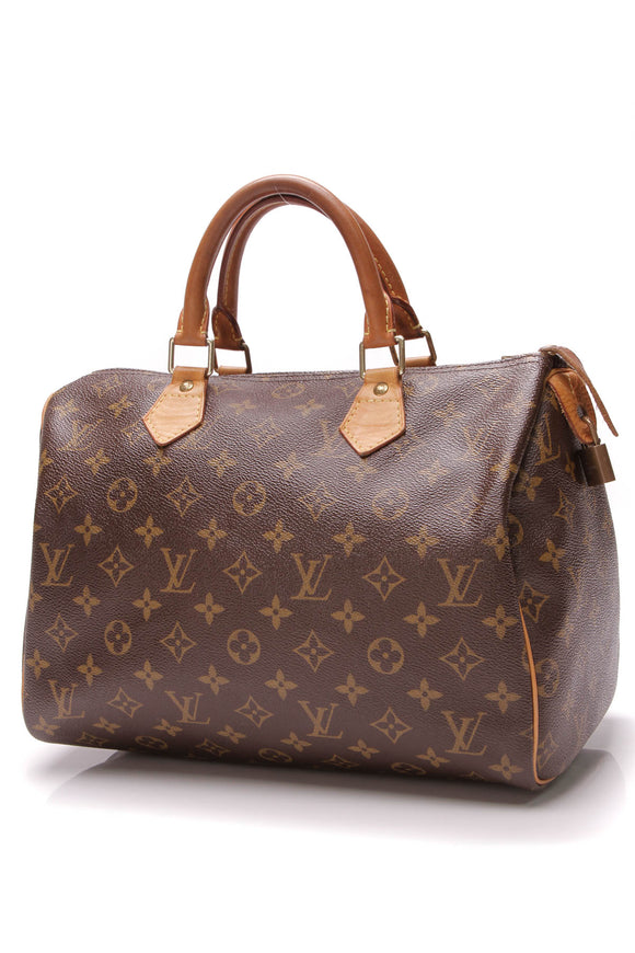 Louis Vuitton Speedy 30 Bag Monogram Brown