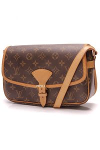 Louis Vuitton Sologne Bag Monogram Canvas Brown