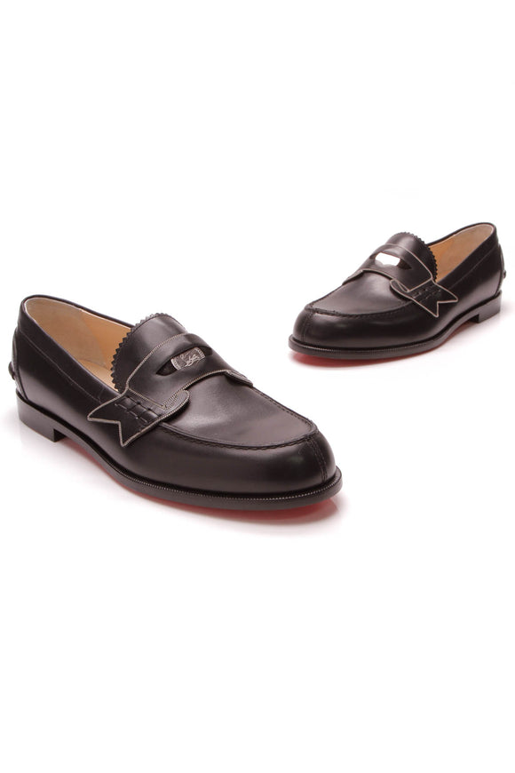 Christian Louboutin Monana Loafers Black Size 38