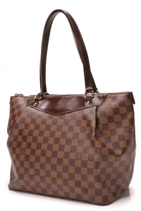 Louis Vuitton Westminster GM Bag Damier Ebene Brown