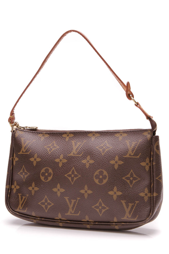 Louis Vuitton Pochette Accessories Bag Monogram Canvas Brown