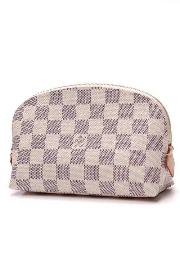 Louis Vuitton Cosmetic Pouch Damier Azur