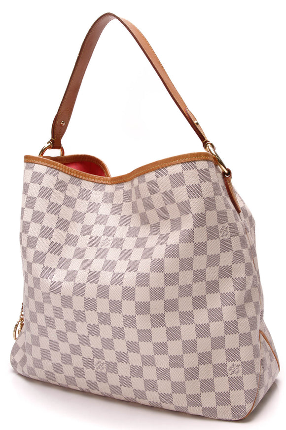 Louis Vuitton Delightful MM Bag Damier Azur