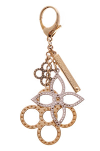 Louis Vuitton Tapage Bag Charm Gold Silver