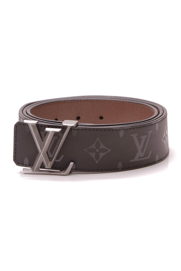 Louis Vuitton Pyramide 40mm Reversible Belt Monogram Illusion Size 44 Black