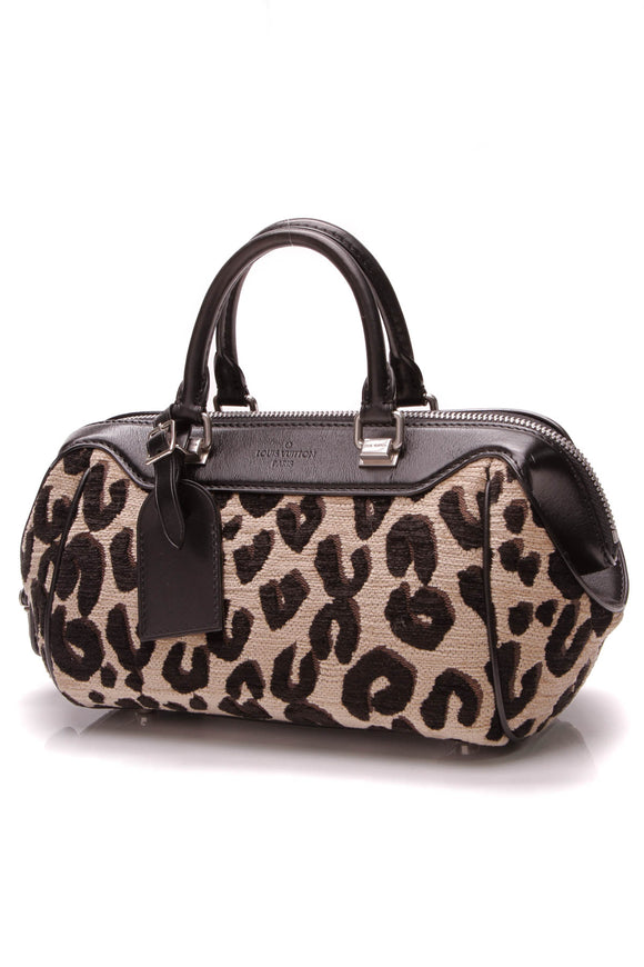 Louis Vuitton Stephen Sprouse Leopard Baby Bag Beige Black
