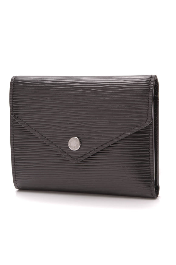 Louis Vuitton Epi Victorine Wallet Black