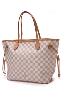 Louis Vuitton Neverfull MM Bag Damier Azur