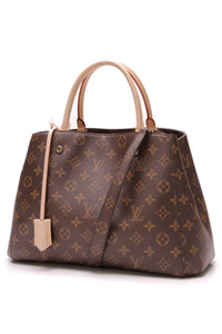 Louis Vuitton Montaigne MM Bag Monogram Brown