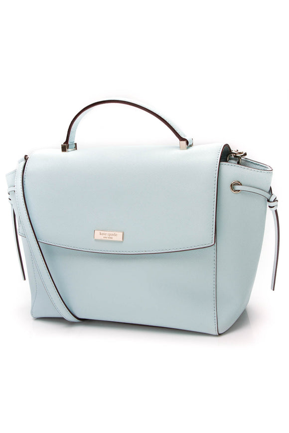 Kate Spade Laurel Way Lilah Satchel Bag Island Waters
