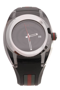Gucci Sync Men's Watch Nylon Steel Black
