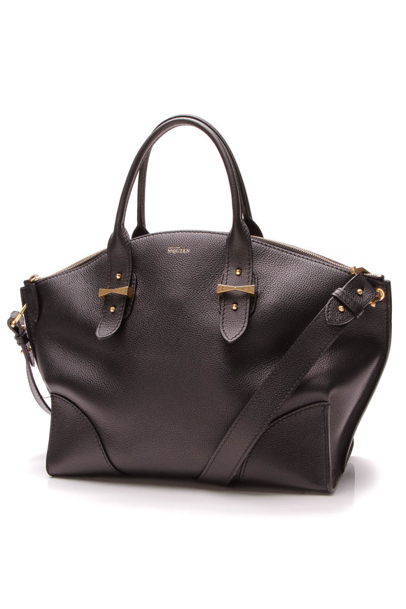 Alexander McQueen Legend Tote Bag Black
