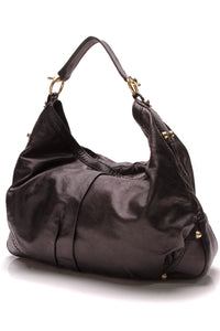 Gucci Jockey Large Hobo Bag Black