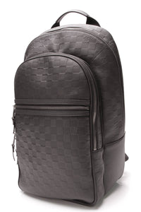 Louis Vuitton Michael Backpack Damier Infini Leather Black