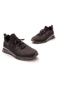 Louis Vuitton V.N.R. Men's Sneakers Black Knit Size 9.5