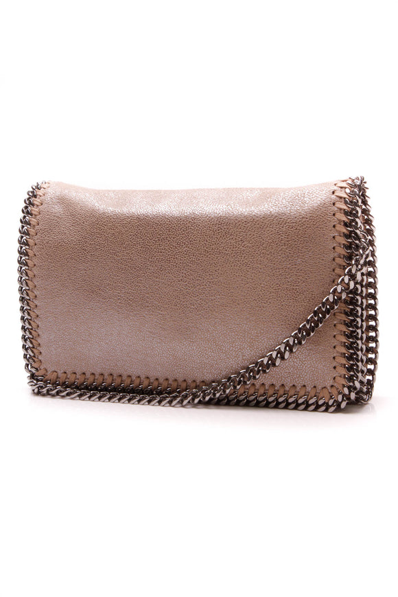 Stella McCartney Falabella Crossbody Bag Natural Metallic