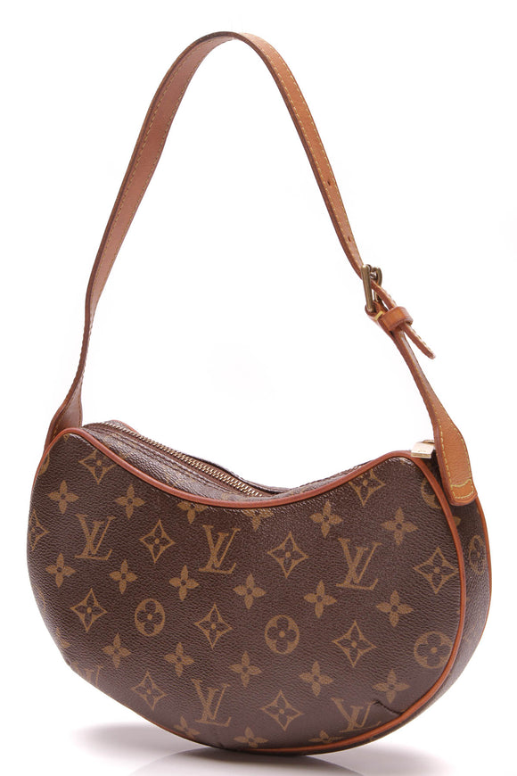 Louis Vuitton Croissant PM Bag Monogram Brown